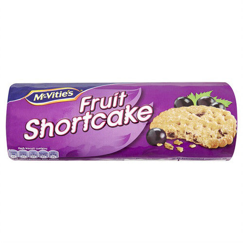 McVitie's Fruit Shortcake (200g) - Pack of 2