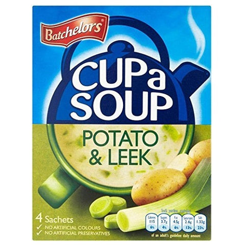 Batchelors Cup A Soup Creamy Potato And Leek 4S 107.4G