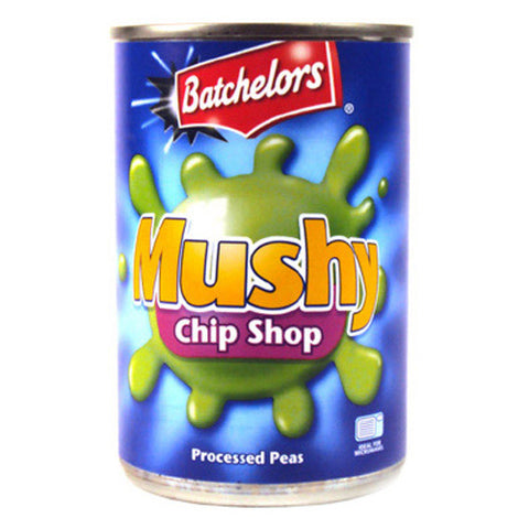 Batchelors Mushy guisantes Orgnl, 10,5 oz (Pack of 6) - British Food Supplies