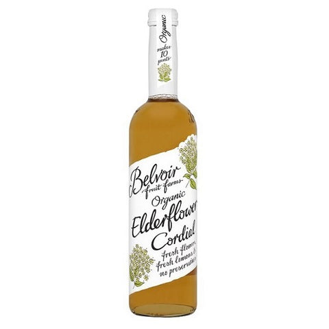 (2 Pack) - Belvoir - Organic Elderflower Cordial | 500ml | 2 PACK BUNDLE