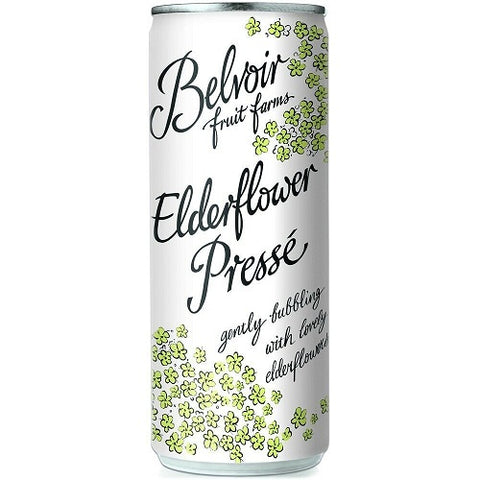 Belvoir Sparkling Elderflower 250ml (Pack of 6)