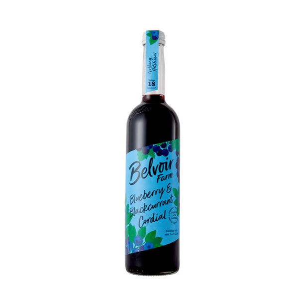 Belvoir Blueberry & Blackcurrant Cordial 500Ml