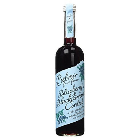 Belvoir Blueberry & Blackcurrant Cordial (500ml) - Pack of 2