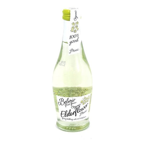 (12 PACK) - Belvoir Elderflower Presse - Organic | 250ml | 12 PACK - SUPER SAVER - SAVE MONEY