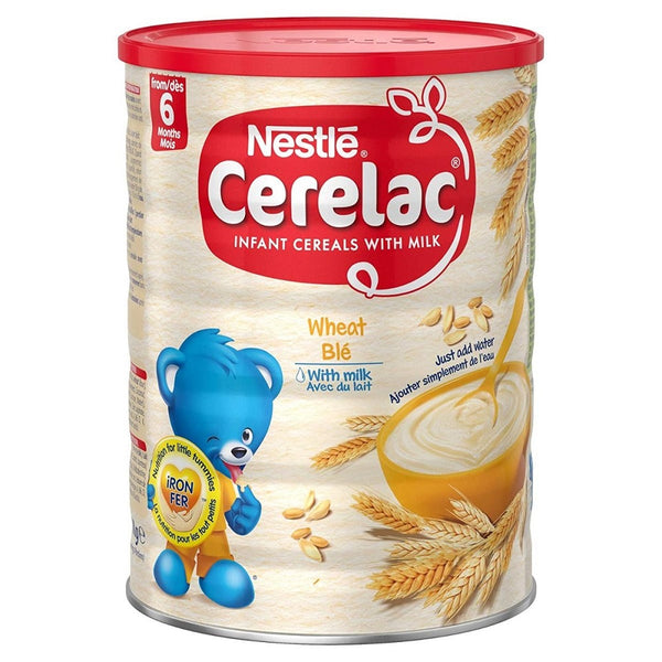 Nestle Cerelac, Wheat With Milk, 14.11-Ounce Cans (Pack of 4)