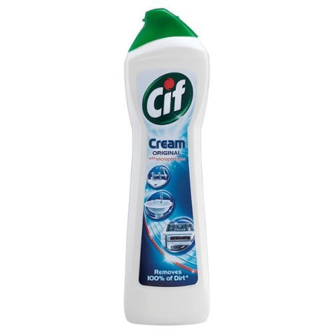 Cif Cream Original with Microparticles 250ml (Pack of 6) by Cif