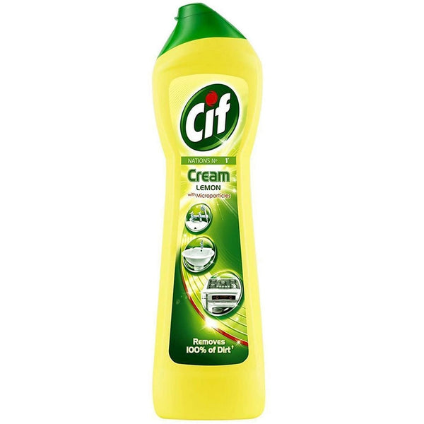 CIF Lemon Cream Cleaner 250ml - British Food Supplies