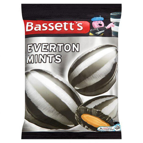 12 x 192g Bags of Bassetts Everton Mints