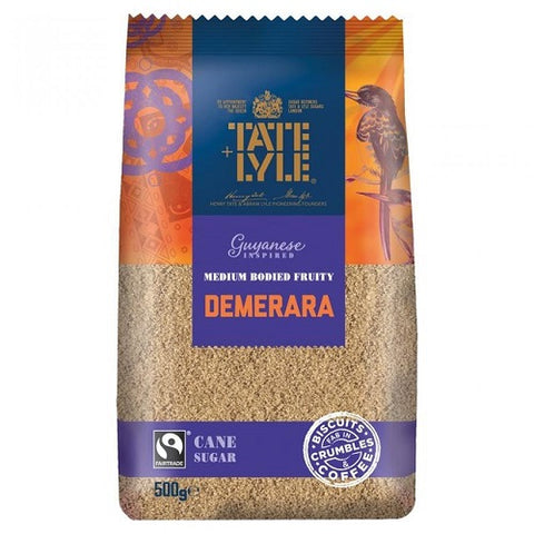 Tate Lyle Demerara Sugar - 500g bag