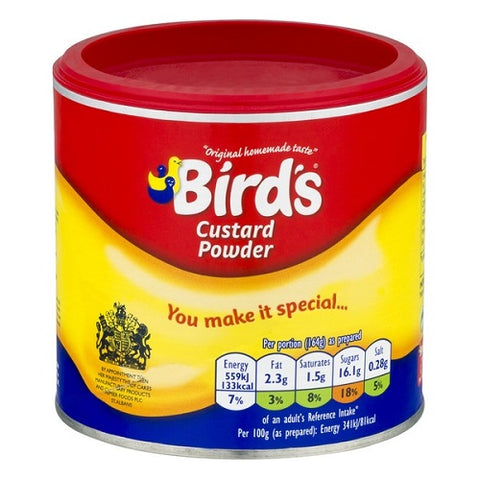 Birds Custard Powder Original Flavoured 300g X 3 Pack - British Food Supplies