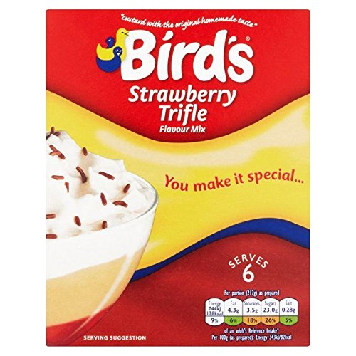 Bird's Strawberry Trifle, 5.10-Ounce (Pack of 4) - British Food Supplies