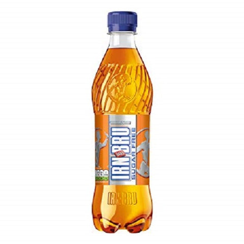 Barr Irn-Bru Sugar Free 500Ml Case Of 12 - British Food Supplies