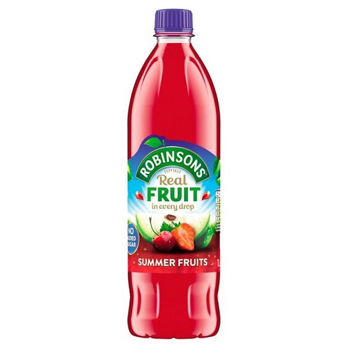 Robinsons Summer Fruits 1ltr (Pack of 6)