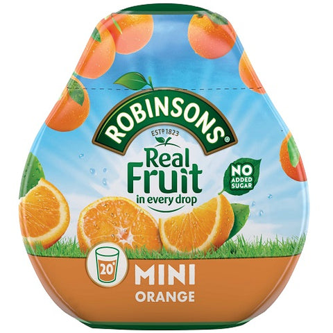Robinsons Squash'd Orange No Added Sugar - 66ml (2.23fl oz)