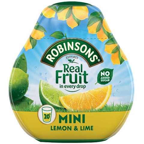 Robinsons Squash'd Lemon & Lime No Added Sugar - 66ml (2.23fl oz)