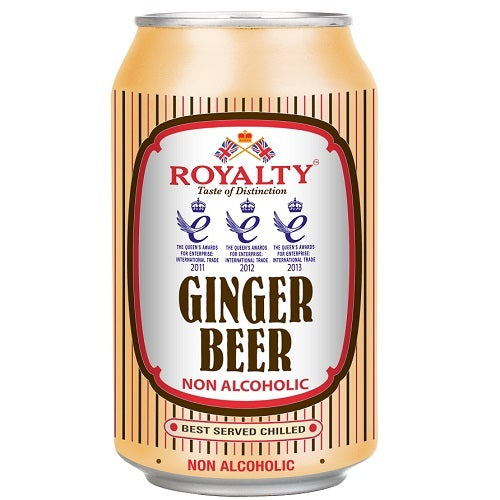 Royalty Ginger Beer 11oz - (4 Pack)