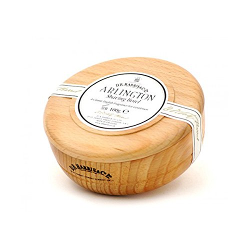 D R Harris Arlington Shaving Soap Bowl Beech (100g)