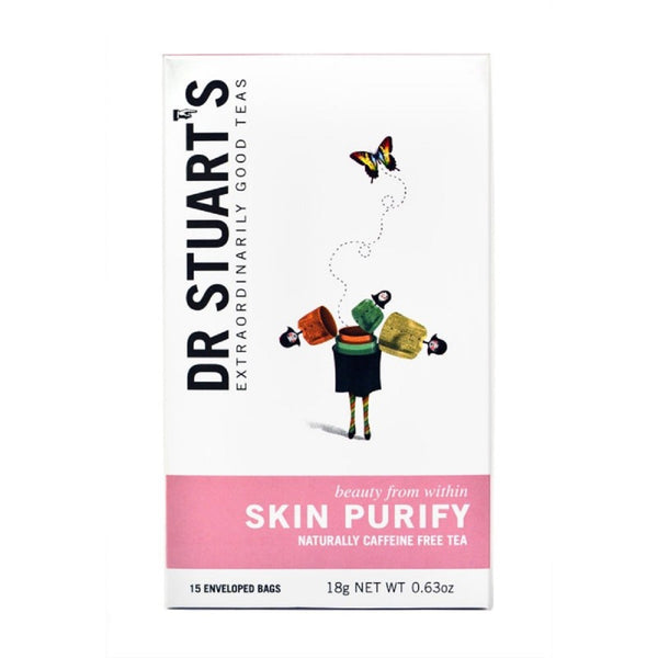 (2 Pack) - Dr Stuarts - Skin Purify Herbal Tea | 15 Bag | 2 PACK BUNDLE