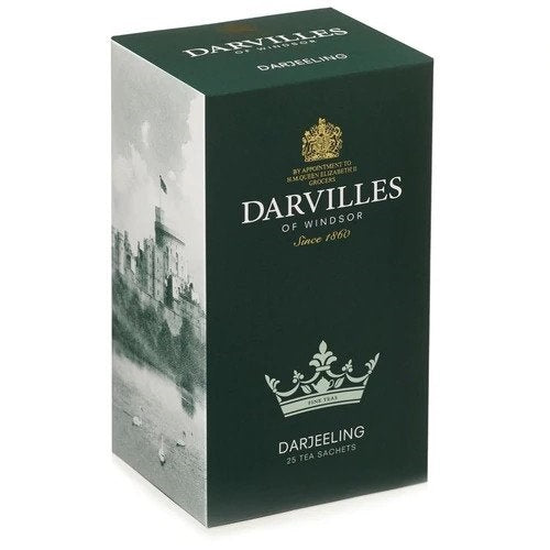 Darvilles of Windsor Tea - Darjeeling Blend (25 Tea Bags) 62.5g