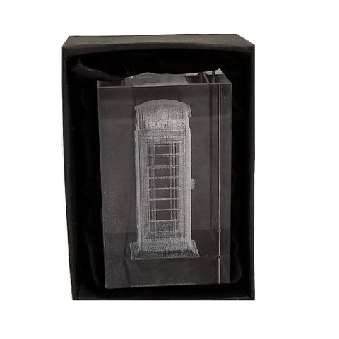 Elgate Laser Cut Telephone Box Paperweight