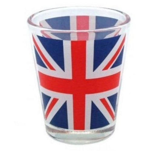 Union Jack Shot Glass 4 Pack