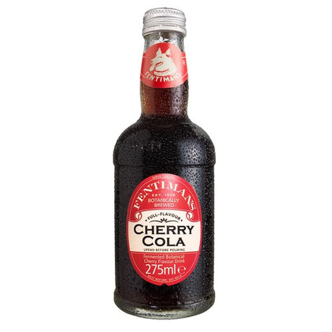 Fentimans Cherry Tree Cola, 9.3 Ounce (Pack of 24)
