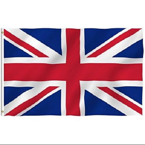Union Jack Flag 3x5 ft.- Fast