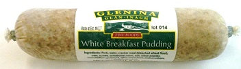 Glenina white Pudding