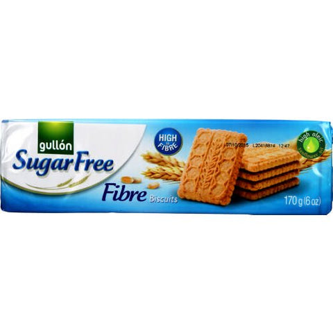 (pack of 5) Gullon Sugar Free Fiber Cookies - British Food Supplies