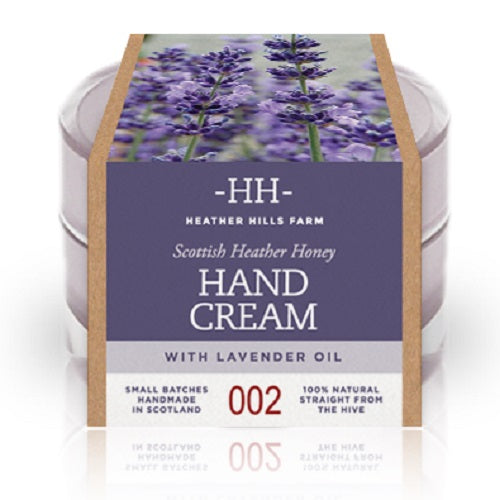 100% Natural Scottish Heather Honey with Lavender Oil Hand Cream by Heather Hills Farm (50g) by Heather Hills Farm - British Food Supplies