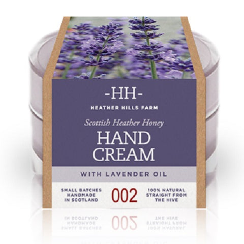 100% Natural Scottish Heather Honey With Lavender Oil Hand Cream By Heather Hills Farm (50G) By Heather Hills Farm