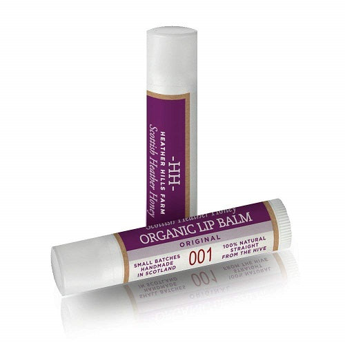 Scottish Heather Honey Organic Lip Balm Original 5g