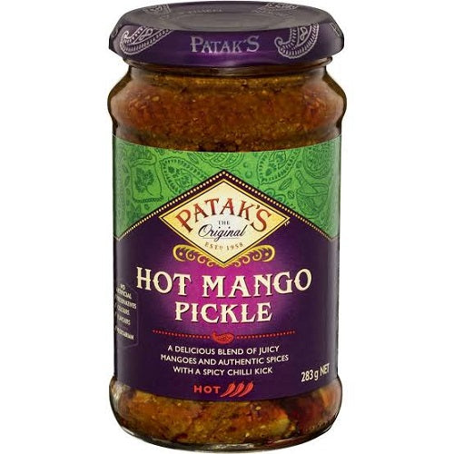 Hot Mango Relish - 10oz - 3 Packages