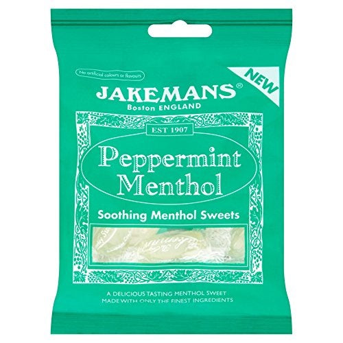 Jakemans Throat and Chest Lozenges, Peppermint, 30 Count (Pack of 3)