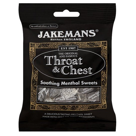 Jakeman's: Throat & Chest Anise Flavored Lozenges 100g (10 Pack)
