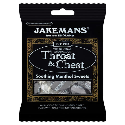Jakeman's Throat and Chest Anise Flavored Lozenges, 4 Count