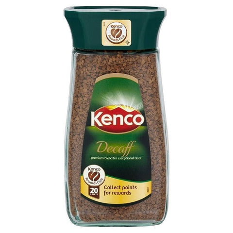 Kenco Decaffeinated Coffee 200g (Pack of 2)
