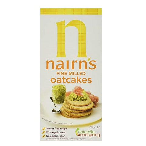 - Nairns - Fine Milled Oat Cakes | 218g | BUNDLE by Nairn's Oatcakes - British Food Supplies