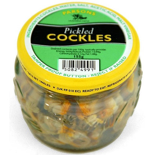 Parsons Welsh Pickled Cockles (155g) - Pack of 6