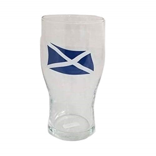 Scotland Flag Tulip Pint Glass (Pack of 3)