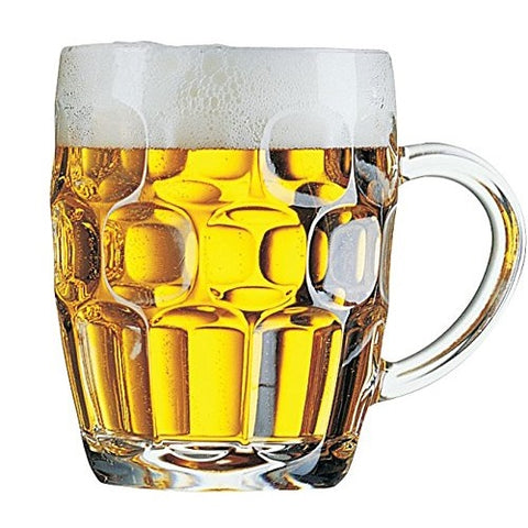 British Pub Imperial Pint Dimple Glass - 2 Pack - British Food Supplies