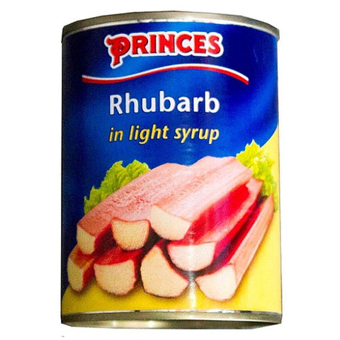 Princes Rhubarb in Light Syrup (540g) - Pack of 6