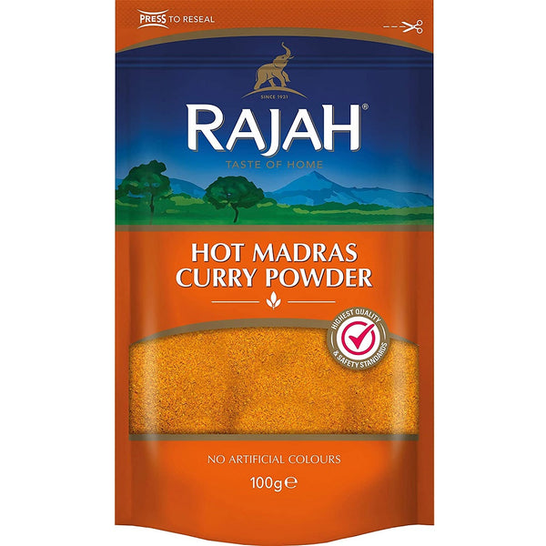 Rajah Hot Curry Powder 100g (2 Pack)