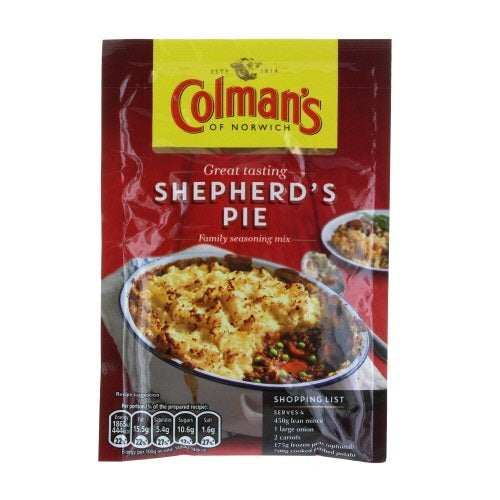3 x Colman's Shepherd's Pie Mix, 1.75-ounce package