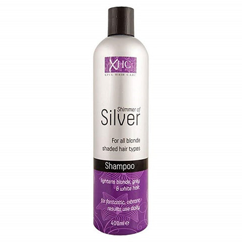Xpel Hair Care Shimmer of Silver Shampoo 400ml by XHC