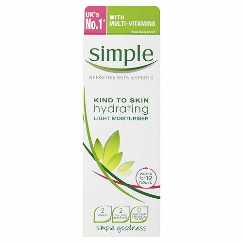 Simple Kind to Skin Hydrating Light Moisturiser (125ml) - Pack of 2