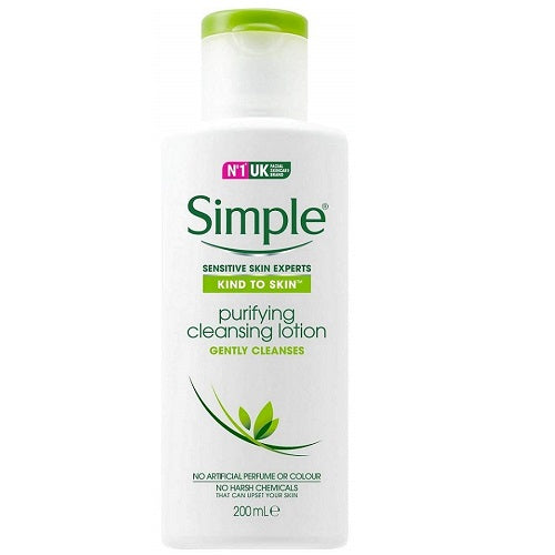 Simple Kind To Skin Purifying Cleansing Lotion 200Ml - Pack of 2