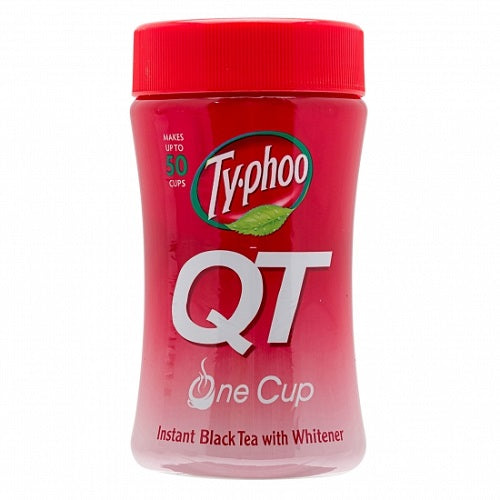 Typhoo Qt Instant Black Tea With Whitener (125G)