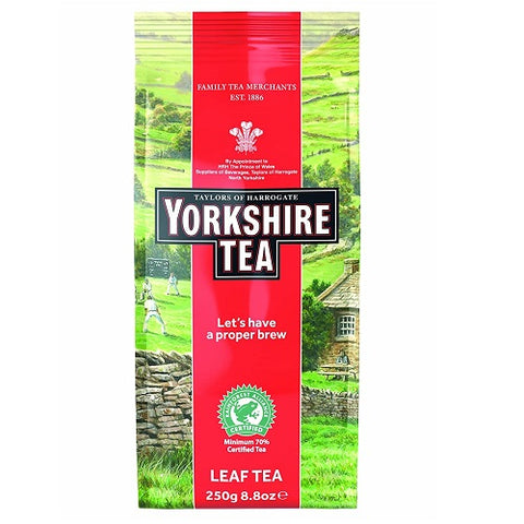 Yorkshire Red Tea loose Tea 8.8oz Foil Bag