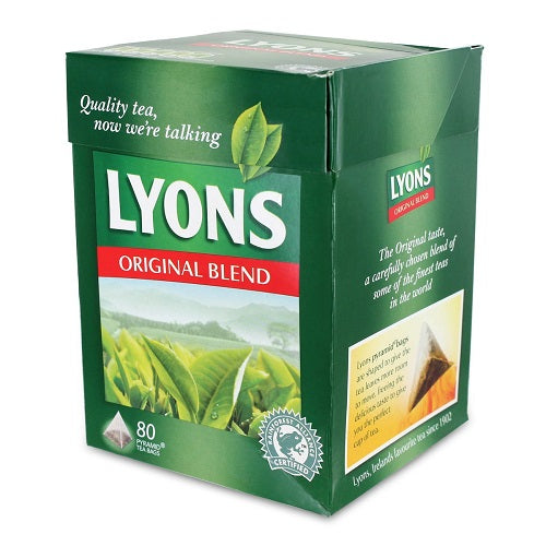 Lyons Pyramid Tea, Original Blend, Tea Bagss, 80-Count Package (Pack of 3)